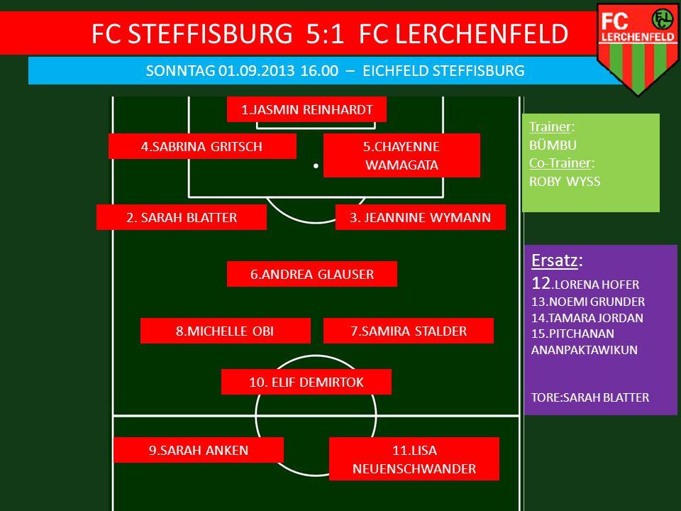 FC STEFFISBURG 5:1 FC LERCHENFELD