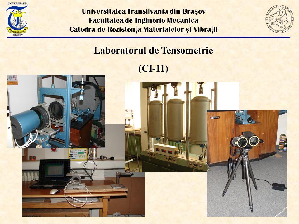 Laboratorul de Tensometrie