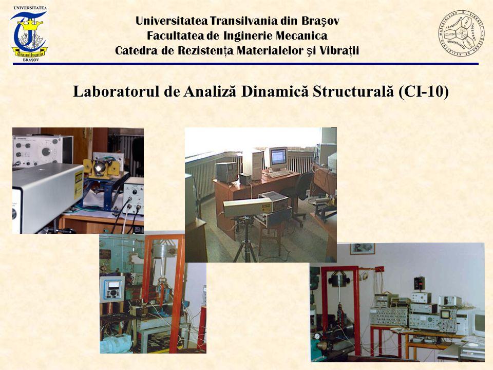 Laboratorul de Analiză Dinamică Structurală (CI-10)