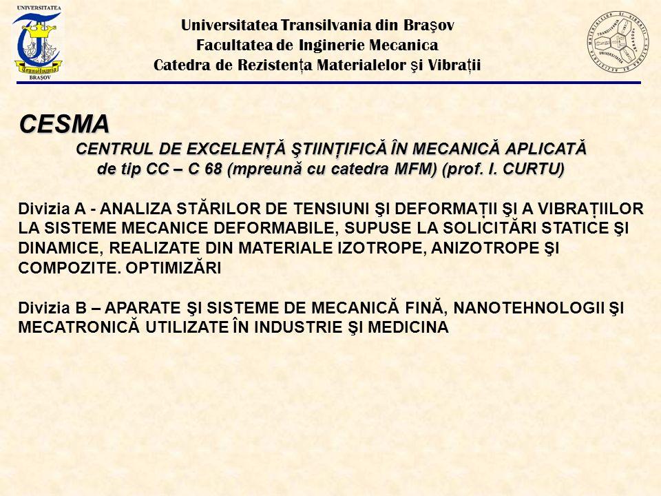 CESMA Universitatea Transilvania din Braşov