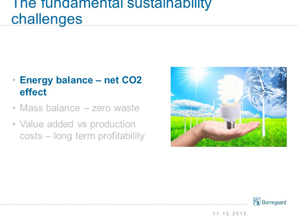 The fundamental sustainability challenges