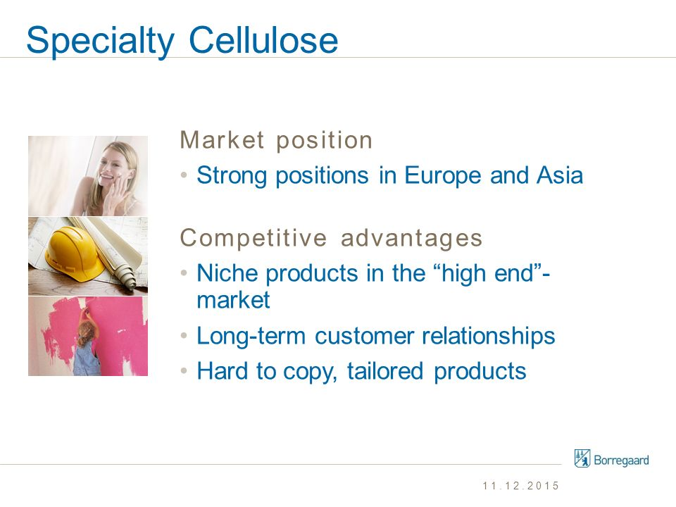 Specialty Cellulose Market position