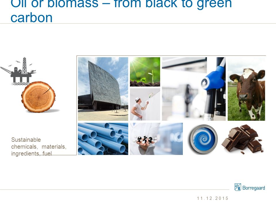 Oil or biomass – from black to green carbon