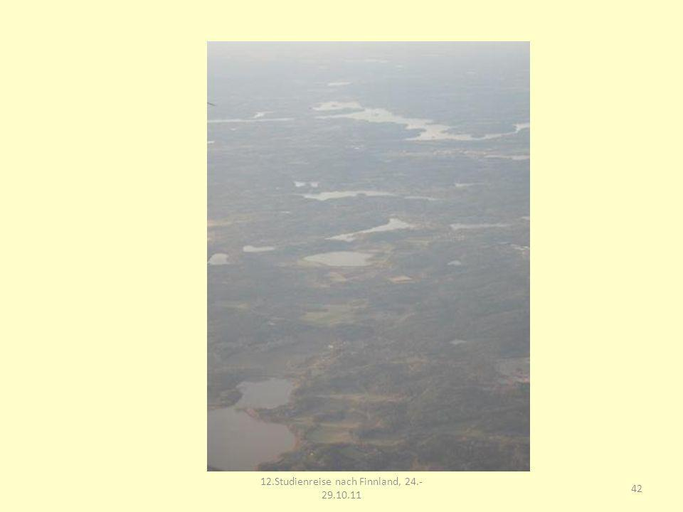 12.Studienreise nach Finnland, 24.-29.10.11