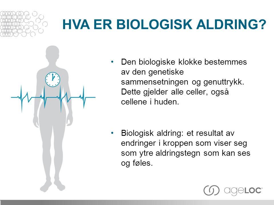 HVA ER BIOLOGISK ALDRING