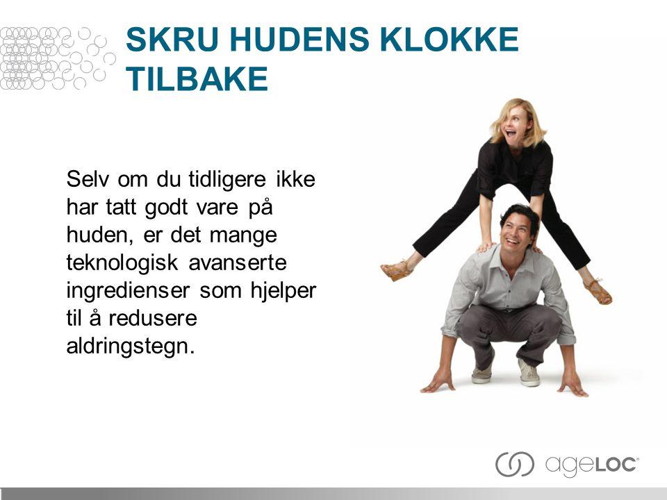 SKRU HUDENS KLOKKE TILBAKE