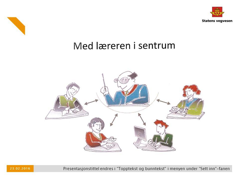 27.04.2017 Presentasjonstittel endres i Topptekst og bunntekst i menyen under Sett inn -fanen