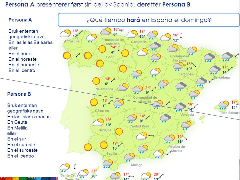 ¿Qué tiempo hará en España el domingo