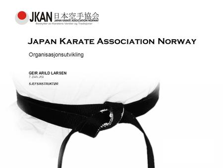 Japan Karate Association Norway