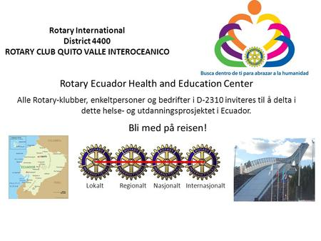 Rotary Ecuador Health and Education Center