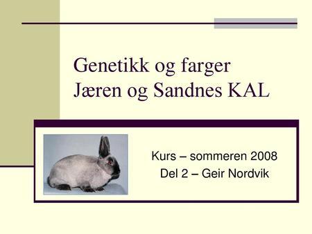 1b84d292 Jæren og Sandnes KAL Geir Nordvik - ppt laste ned
