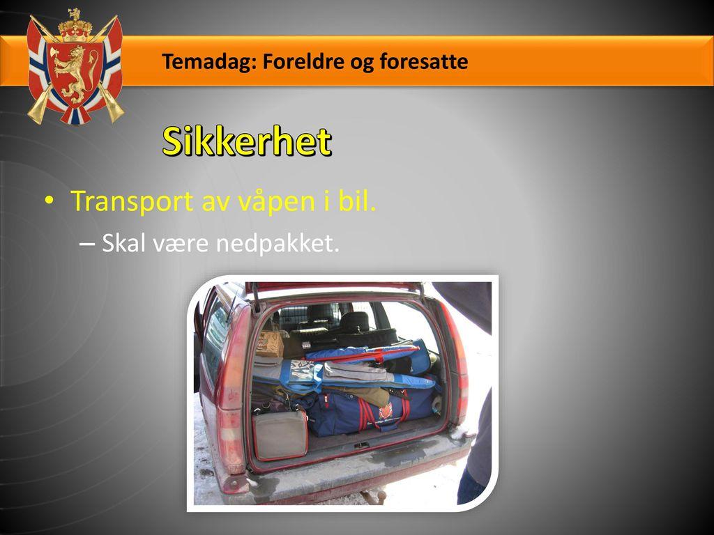 Her er reglene sendt ut av politiet i Vestfold: