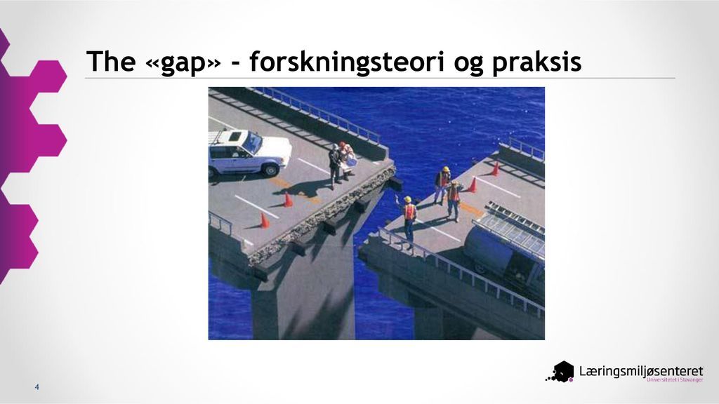 The «gap» - forskningsteori og praksis