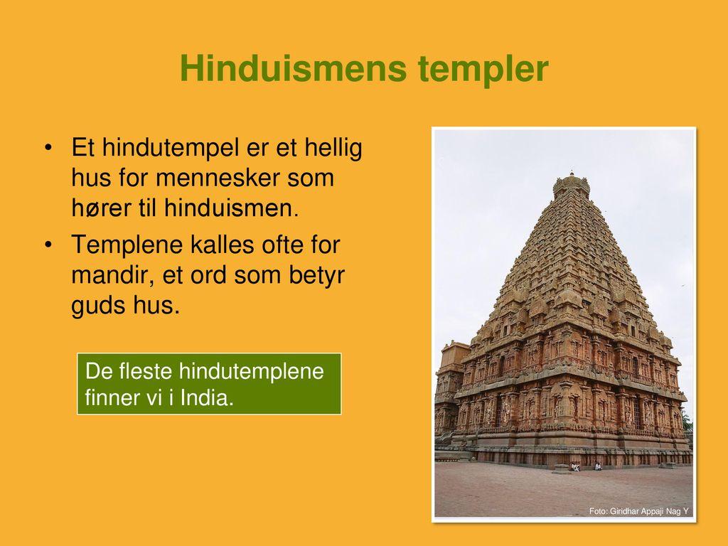 Hellige steder i hinduismen