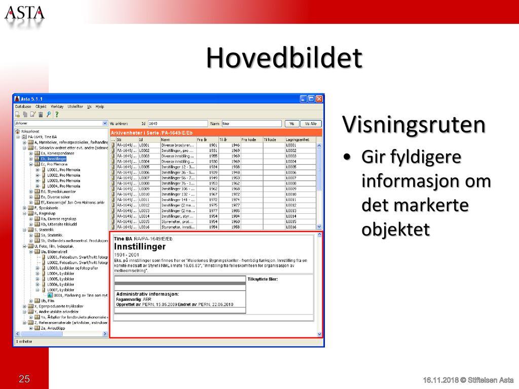 a8335f37 Ole Myhre Hansen Stiftelsen Asta - ppt laste ned