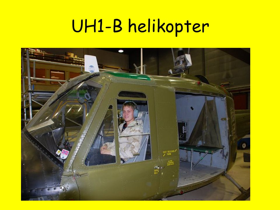 UH1-B helikopter