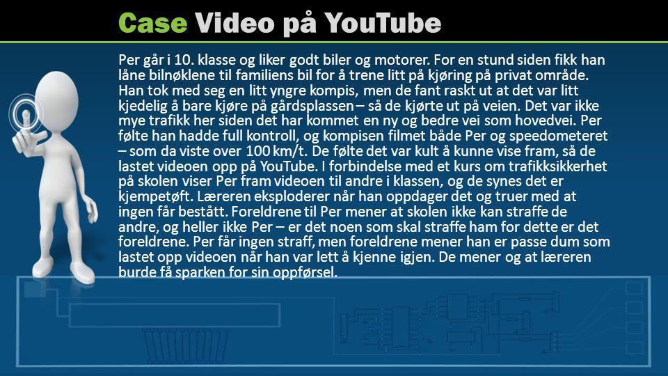 Case Video på YouTube