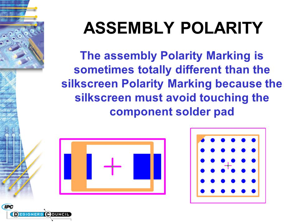 ASSEMBLY POLARITY
