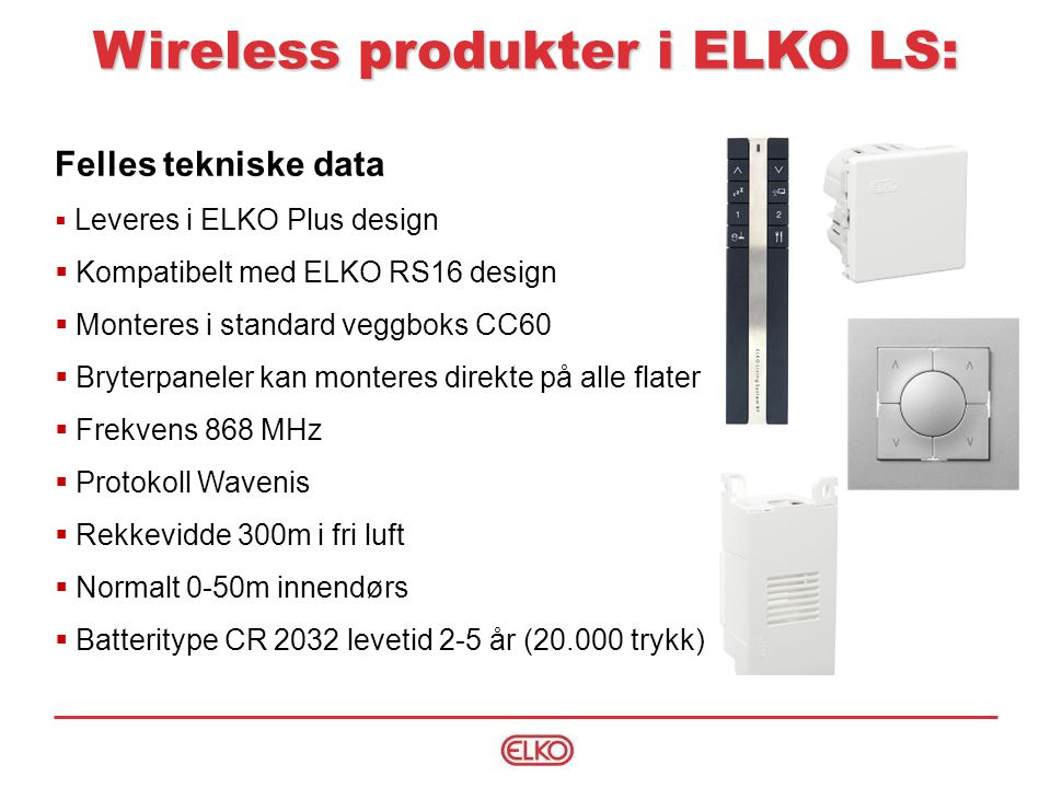 Wireless produkter i ELKO LS: