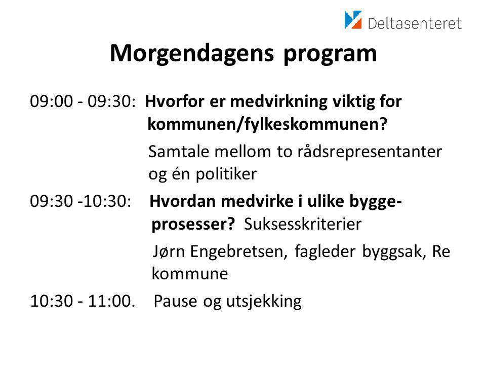 Morgendagens program