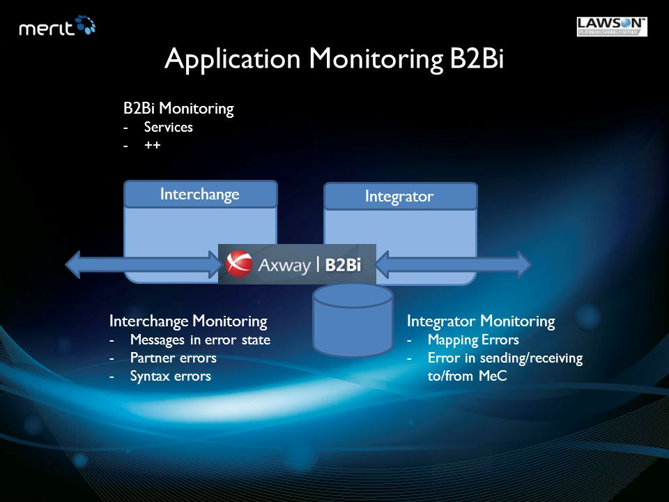 Application Monitoring B2Bi