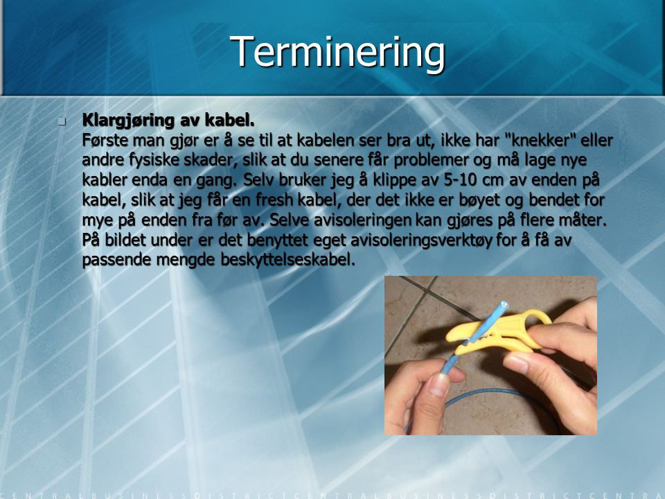 Terminering