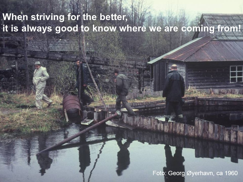 When striving for the better,