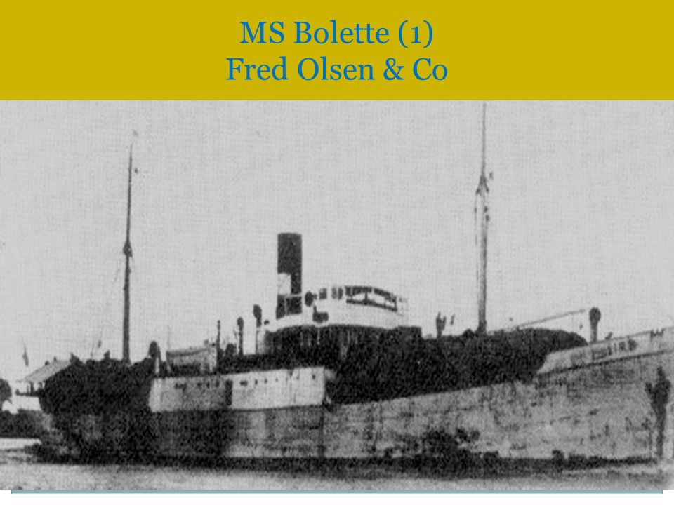MS Bolette (1) Fred Olsen & Co