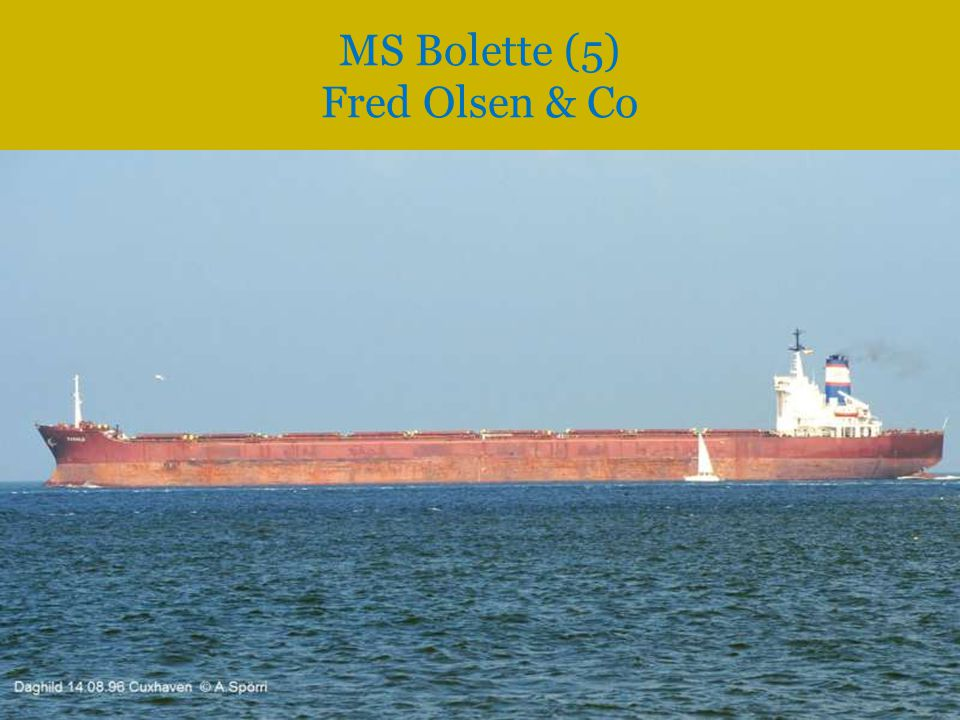 MS Bolette (5) Fred Olsen & Co