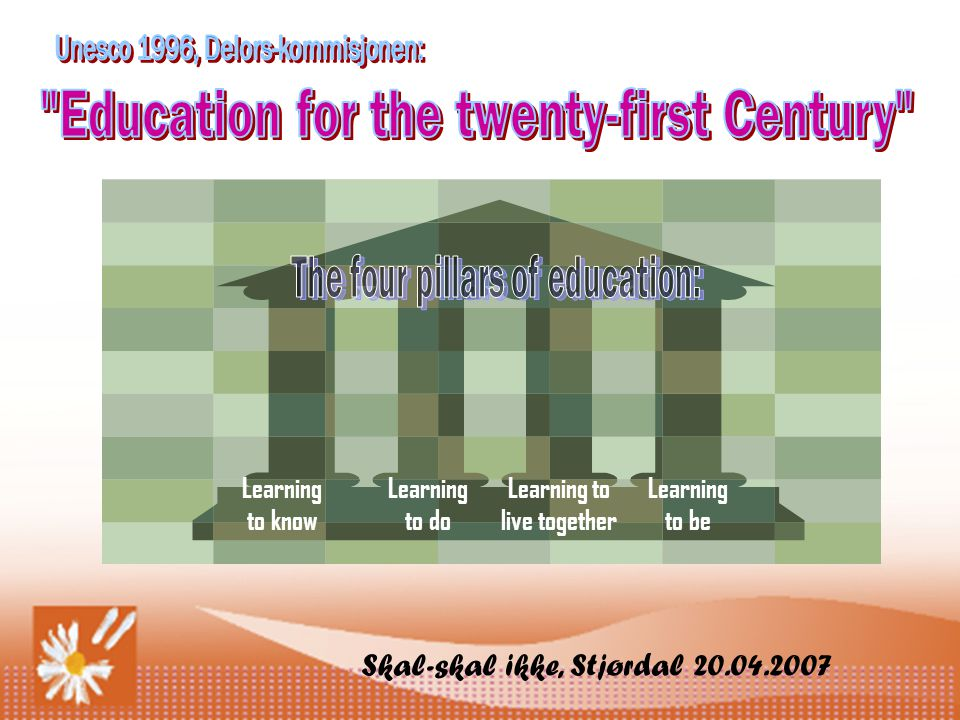 Education for the twenty-first Century