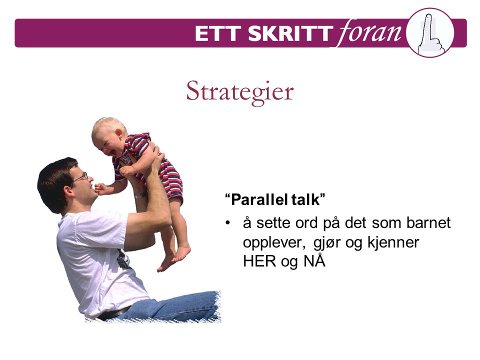 Strategier Parallel talk