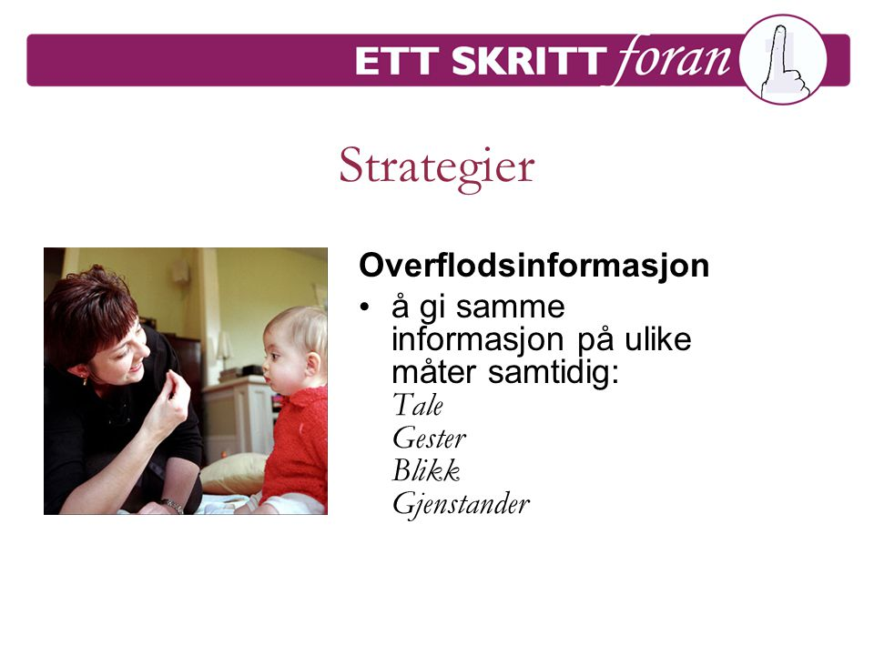 Strategier Overflodsinformasjon