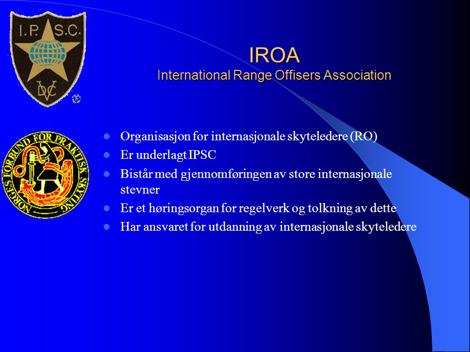 IROA International Range Offisers Association
