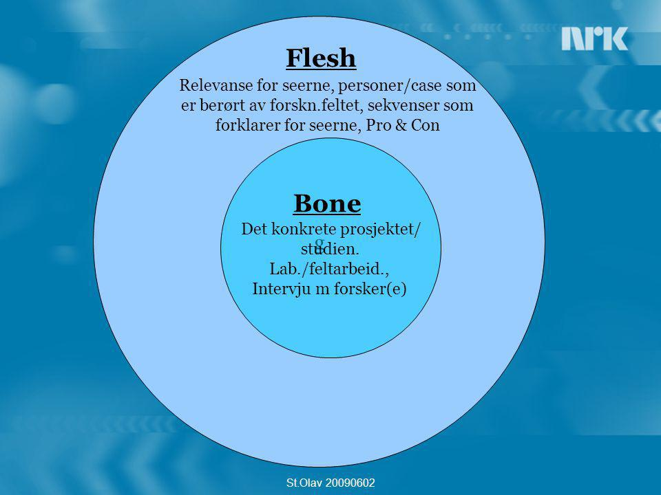 Flesh Bone g Relevanse for seerne, personer/case som