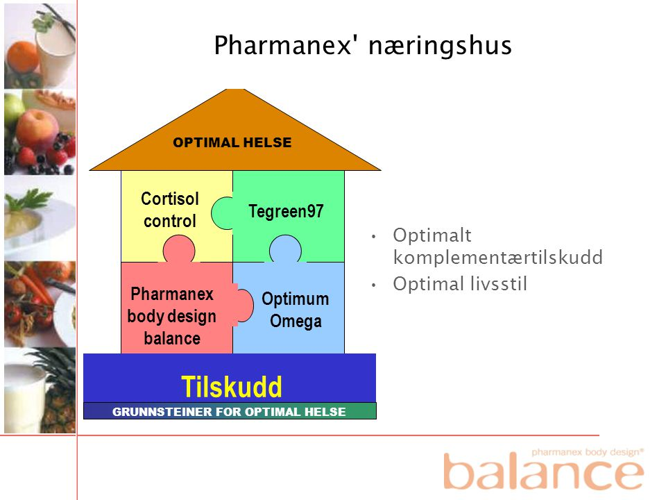Pharmanex body design balance