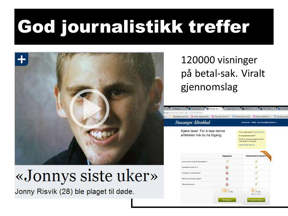 God journalistikk treffer