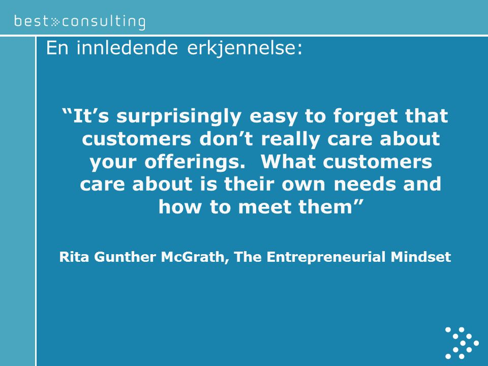 Rita Gunther McGrath, The Entrepreneurial Mindset