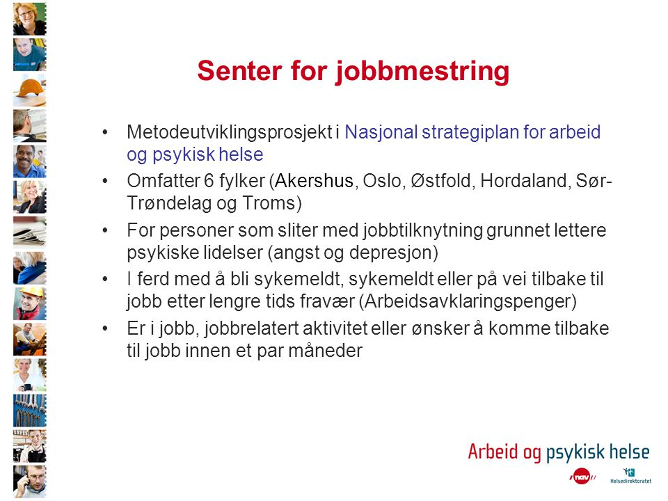 senter for helse og arbeid