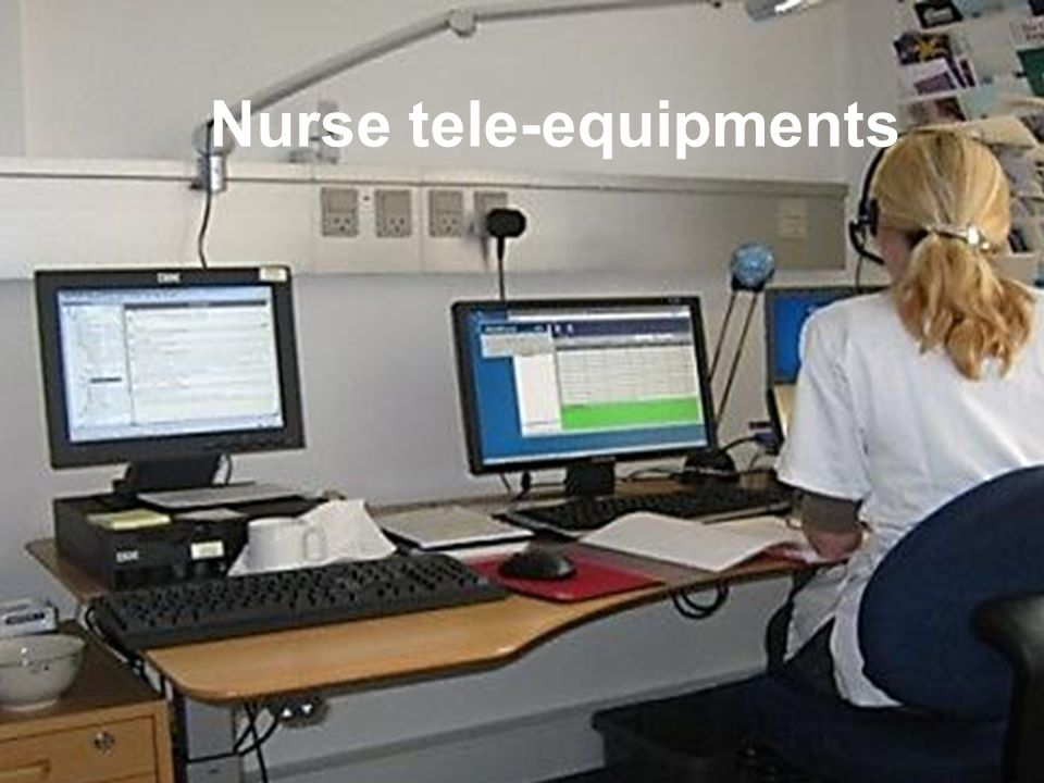 Nurse tele-equipments