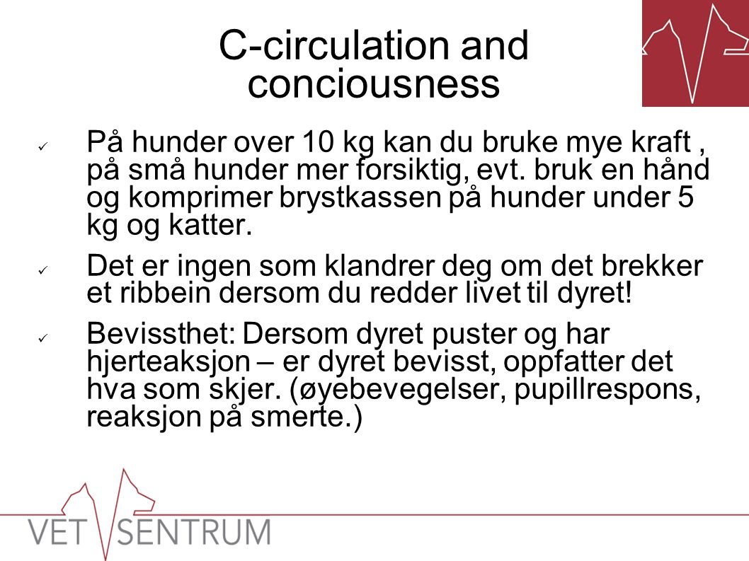 C-circulation and conciousness