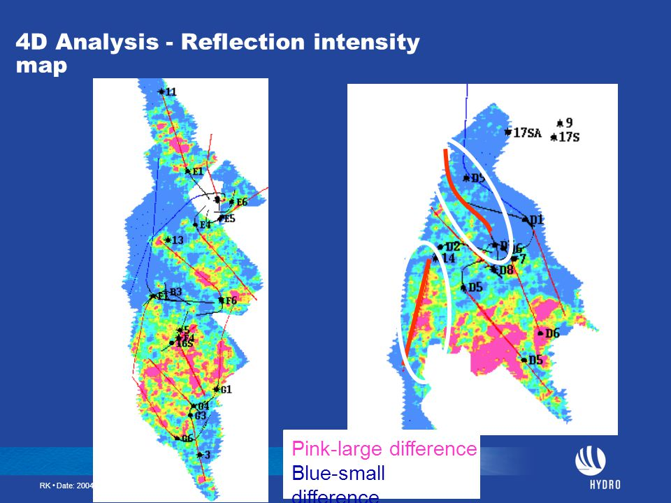 4D Analysis - Reflection intensity map