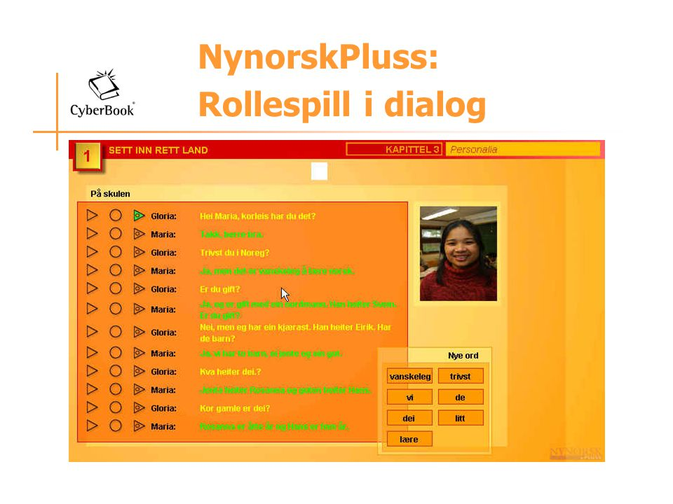 NynorskPluss: Rollespill i dialog