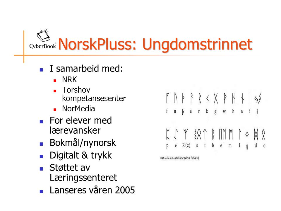 NorskPluss: Ungdomstrinnet