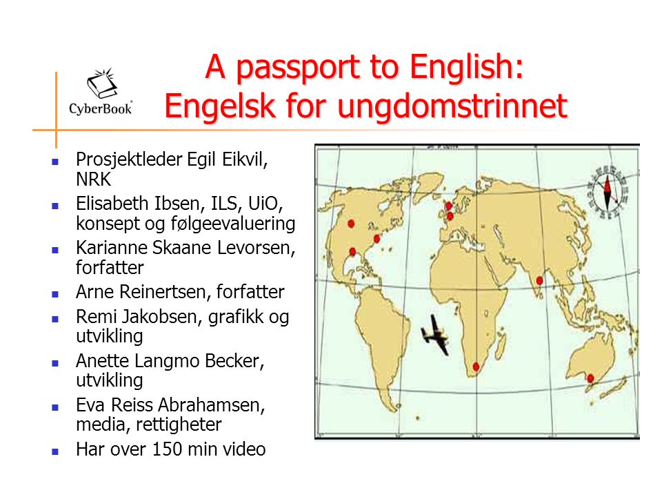 A passport to English: Engelsk for ungdomstrinnet