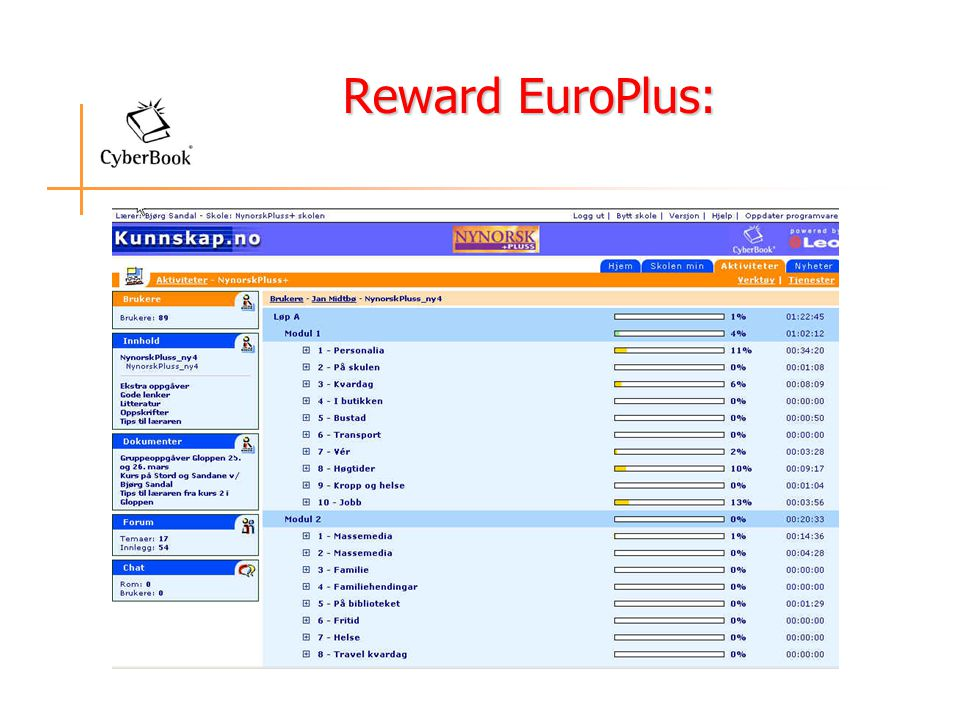 Reward EuroPlus: