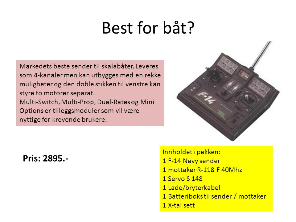 Best for båt