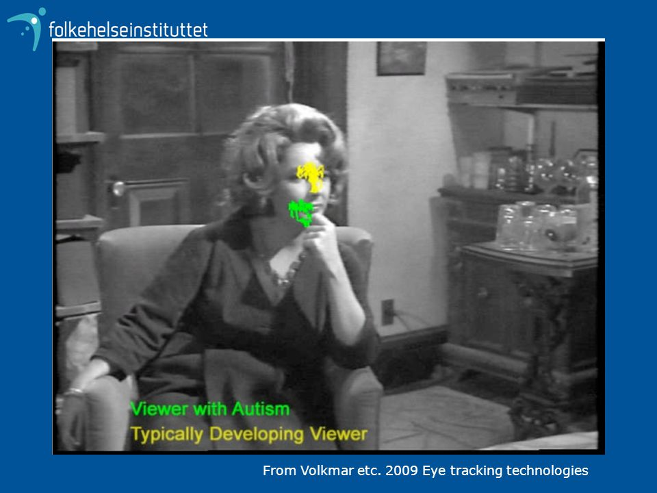 From Volkmar etc. 2009 Eye tracking technologies
