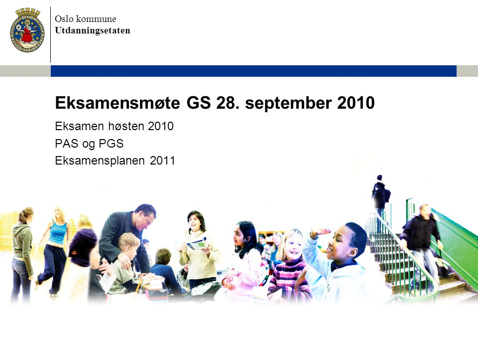 Eksamensmøte GS 28. september 2010