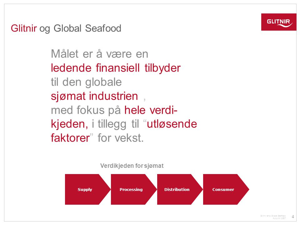 Glitnir og Global Seafood