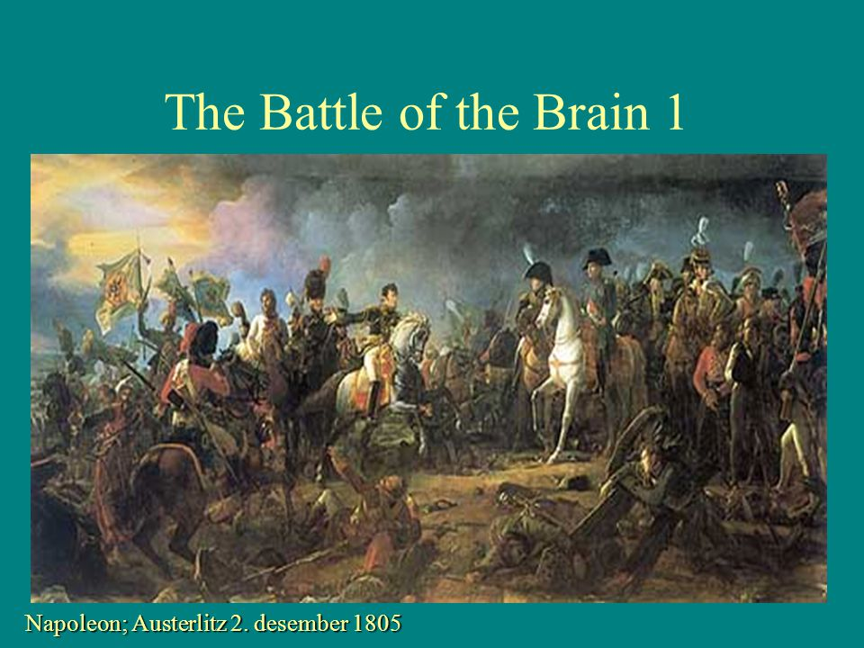 The Battle of the Brain 1 Napoleon; Austerlitz 2. desember 1805